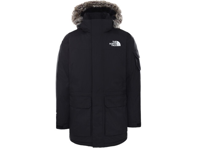 The North Face Recycled McMurdo Chaqueta Hombre, negro